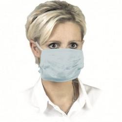 Хирургическа маска 3 слоя връзки/сини