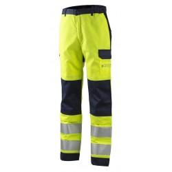 Защитен панталон  THOR жълто| син