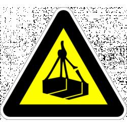 """Знак """"Опасност от падане на товари"""""""