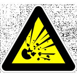 """Знак """"Взривоопасен материал"""
