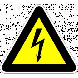 """Знак """"Опасност от електрически ток"""""""