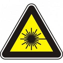 """Знак """"Лазерно лъчение"""""""