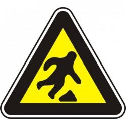 """Знак """"Опасност от спъване"""""""