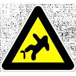 """Знак """"Опасност от падане"""""""
