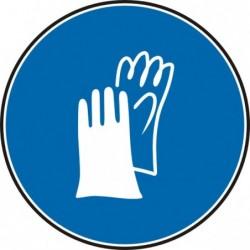 """Знак """"Трябва да се носят защитни ръкавици"""""""