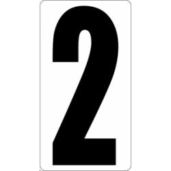 "Знак "" Цифра 2 """
