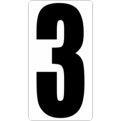 "Знак "" Цифра 3 """