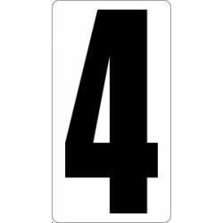 "Знак "" Цифра 4 """