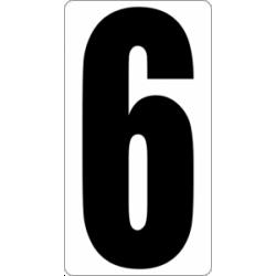 "Знак "" Цифра 6 """