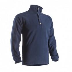 Пуловер POLAIRE тъмно син
