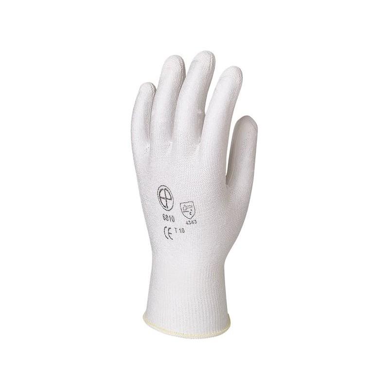 Ръкавици бял полиуретан HPPE