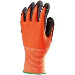 Ръкавици латексови за прецизни задачи EUROFLEX HIVIZ